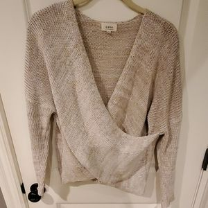Vici Cross Front Sweater